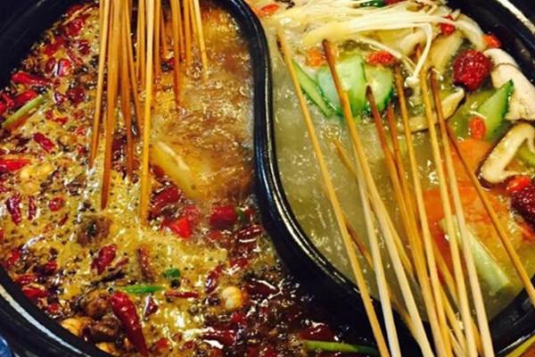 成都砂锅串串香菜品展示