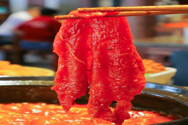 成都串串香菜品